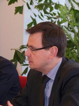 Minister van Jeugd en Gezin André Rouvoet
